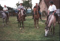 randonnee equitation exterieur